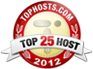 Voted A Top 25 Host On Tophosts.com