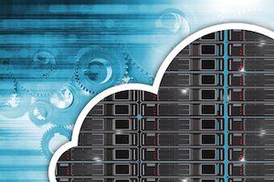 Cloud Hosting Concept
